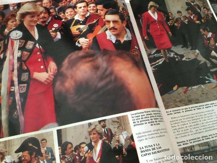 Coleccionismo de Revista Hola: HOLA 1987 MAYRA GOMEZ KEMP ALASKA (FANGORIA) EN LA VISITA DE LOS PRINCIPES DE GALES EN ESPAÑA - Foto 4 - 215990431