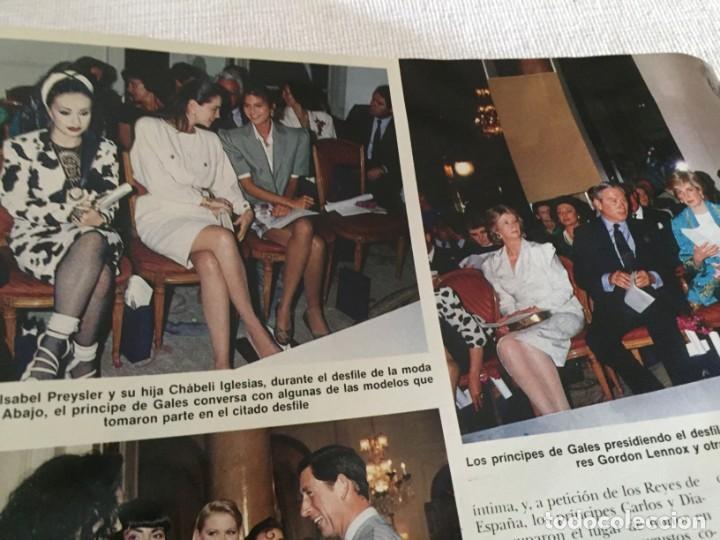 Coleccionismo de Revista Hola: HOLA 1987 MAYRA GOMEZ KEMP ALASKA (FANGORIA) EN LA VISITA DE LOS PRINCIPES DE GALES EN ESPAÑA - Foto 5 - 215990431