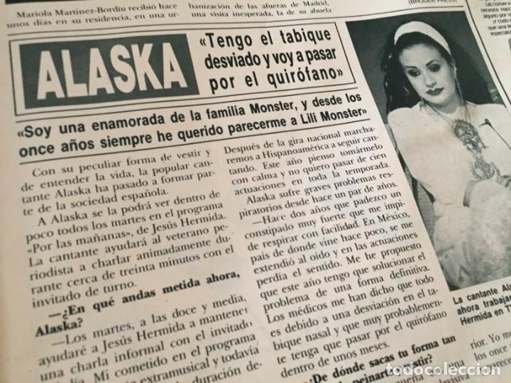 Coleccionismo de Revista Hola: HOLA 1987 MAYRA GOMEZ KEMP ALASKA (FANGORIA) EN LA VISITA DE LOS PRINCIPES DE GALES EN ESPAÑA - Foto 7 - 215990431