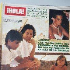 Collezionismo di Rivista Hola: REVISTA HOLA AÑO 1984. Lote 216492812