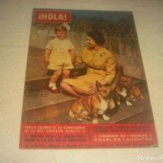 Coleccionismo de Revista Hola: HOLA ! N. 952 . NOVIEMBRE 1962 . EN PORTADA ISABEL II.. Lote 216563967