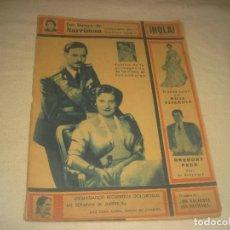 Collezionismo di Rivista Hola: HOLA ! N. 497, MARZO 1954 . GREGORY PECK,SALON MODA ESPAÑOLA, CONDES LUXEMBURGO.... Lote 216801558