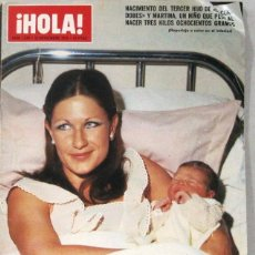 Collectionnisme de Magazine Hola: HOLA - Nº 1630 - 22 NOVIEMBRE 1975 - REVISTA. Lote 217326588
