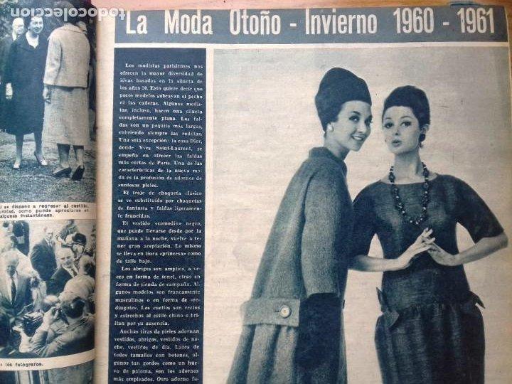Coleccionismo de Revista Hola: HOLA 12 REVISTAS DEL Nº 839 A 860 DE 24.09.60 AL 24.02.61 +1 TERESA Nº 84 BALDUINO Y FABIOLA.TOMO - Foto 2 - 218051567