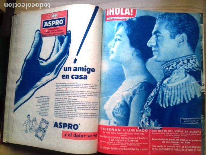 Coleccionismo de Revista Hola: HOLA 12 REVISTAS DEL Nº 839 A 860 DE 24.09.60 AL 24.02.61 +1 TERESA Nº 84 BALDUINO Y FABIOLA.TOMO - Foto 6 - 218051567