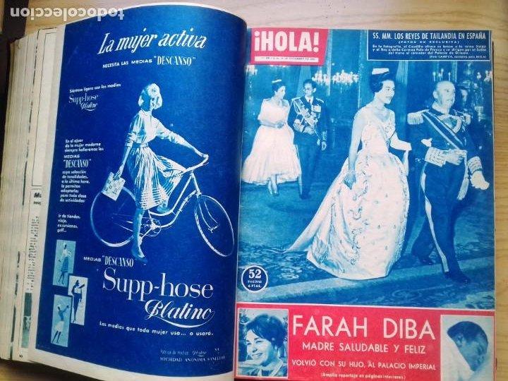 Coleccionismo de Revista Hola: HOLA 12 REVISTAS DEL Nº 839 A 860 DE 24.09.60 AL 24.02.61 +1 TERESA Nº 84 BALDUINO Y FABIOLA.TOMO - Foto 7 - 218051567