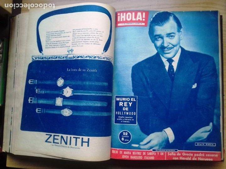 Coleccionismo de Revista Hola: HOLA 12 REVISTAS DEL Nº 839 A 860 DE 24.09.60 AL 24.02.61 +1 TERESA Nº 84 BALDUINO Y FABIOLA.TOMO - Foto 9 - 218051567