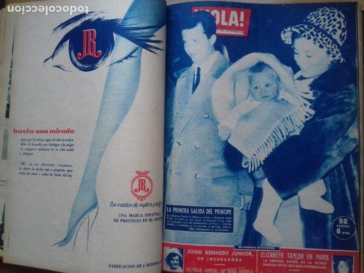 Coleccionismo de Revista Hola: HOLA 12 REVISTAS DEL Nº 839 A 860 DE 24.09.60 AL 24.02.61 +1 TERESA Nº 84 BALDUINO Y FABIOLA.TOMO - Foto 10 - 218051567