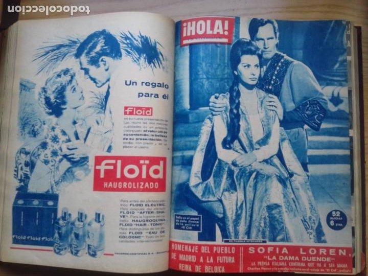 Coleccionismo de Revista Hola: HOLA 12 REVISTAS DEL Nº 839 A 860 DE 24.09.60 AL 24.02.61 +1 TERESA Nº 84 BALDUINO Y FABIOLA.TOMO - Foto 11 - 218051567