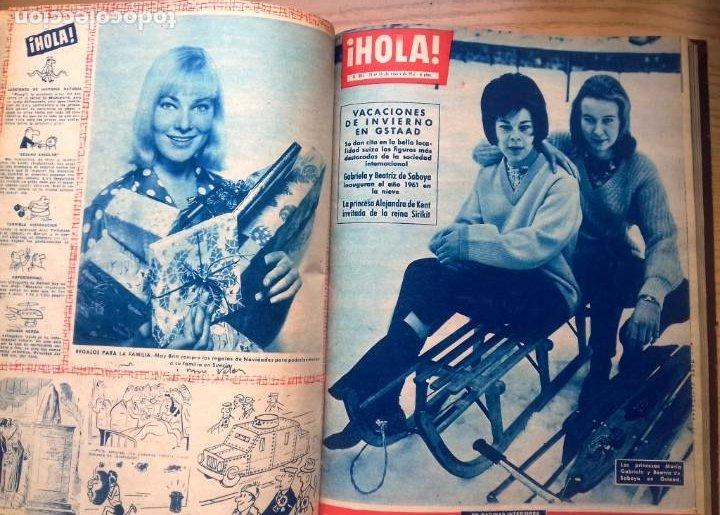 Coleccionismo de Revista Hola: HOLA 12 REVISTAS DEL Nº 839 A 860 DE 24.09.60 AL 24.02.61 +1 TERESA Nº 84 BALDUINO Y FABIOLA.TOMO - Foto 14 - 218051567