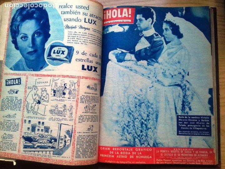 Coleccionismo de Revista Hola: HOLA 12 REVISTAS DEL Nº 839 A 860 DE 24.09.60 AL 24.02.61 +1 TERESA Nº 84 BALDUINO Y FABIOLA.TOMO - Foto 15 - 218051567