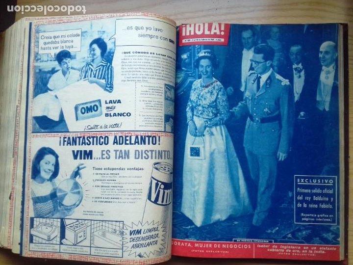 Coleccionismo de Revista Hola: HOLA 12 REVISTAS DEL Nº 839 A 860 DE 24.09.60 AL 24.02.61 +1 TERESA Nº 84 BALDUINO Y FABIOLA.TOMO - Foto 17 - 218051567