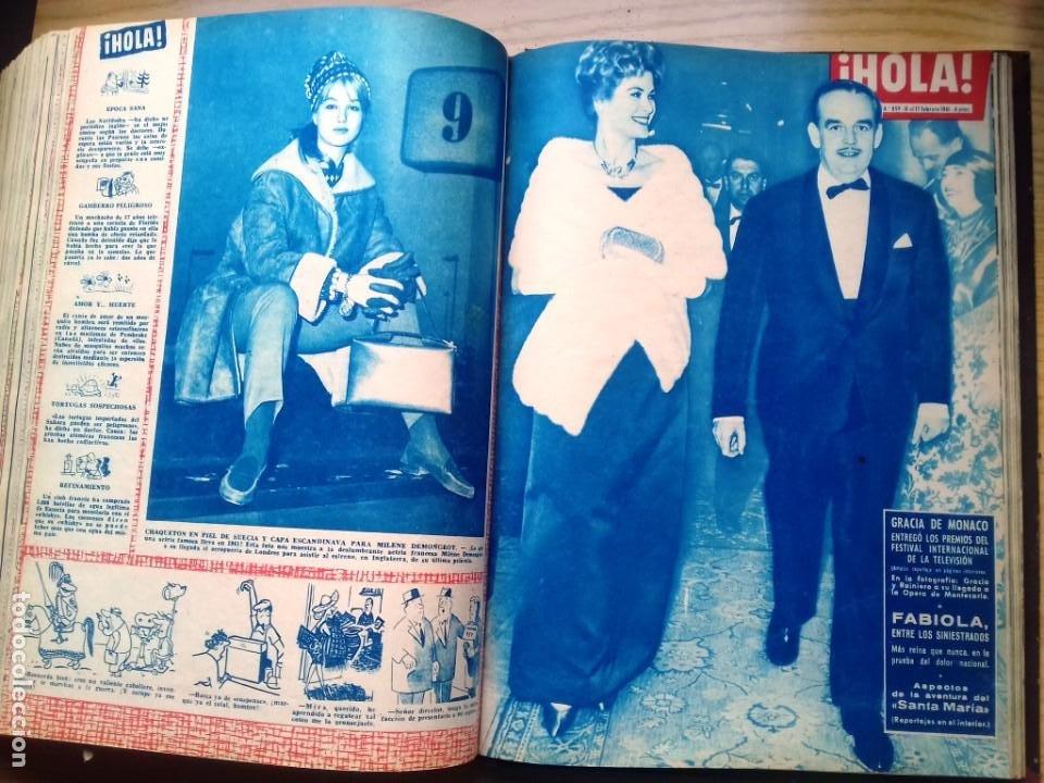 Coleccionismo de Revista Hola: HOLA 12 REVISTAS DEL Nº 839 A 860 DE 24.09.60 AL 24.02.61 +1 TERESA Nº 84 BALDUINO Y FABIOLA.TOMO - Foto 18 - 218051567