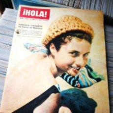 Coleccionismo de Revista Hola: REVISTA HOLA!- GIGLIOLA CINQUETTI, N°1042,1964.. Lote 218086567