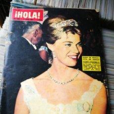Coleccionismo de Revista Hola: REVISTA HOLA!- BODA MARGARITA DE SUECIA, N°1036,1964.. Lote 218087002