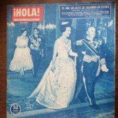 Coleccionismo de Revista Hola: HOLA. 1960. FRANCO - ENVIO CERTIFICADO INCLUIDO.. Lote 218299637