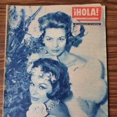 Coleccionismo de Revista Hola: HOLA Nº 799 19 AL 25 DICIEMBRE 1959. EXTRAORDINARIO NAVIDAD AUDREY HEPBURN, BRIGITTE BARDOT. Lote 218313921