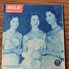 Coleccionismo de Revista Hola: HOLA. Nº 812, AÑO 1960 LA REINA ISABEL, EL BAILE DE LAS PRINCESAS. Lote 218315010