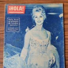 Coleccionismo de Revista Hola: HOLA. Nº 815, AÑO 1960 GALA REAL ODEON LONDRES, BAUTIZO PRINCIPE ANDRES. Lote 218315440