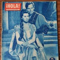 Coleccionismo de Revista Hola: HOLA Nº 850 - 1960 -SOFIA LOREN Y CHARLTON HESTON EN EL RODAJE DE EL CID. Lote 218316131