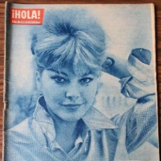 Coleccionismo de Revista Hola: HOLA Nº 896. 1961. CAROLL BAKER, OLGA DETERDING, MARIA GABRIELA, FARAH, AVA GARDNER, WALTER CHIARI. Lote 218316418
