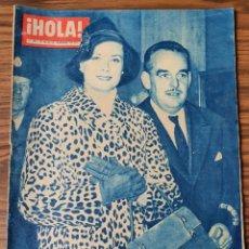 Coleccionismo de Revista Hola: HOLA Nº 798 . EL PRINCIPE RAINIERO Y PRINCESA GRACE 1959. Lote 218317701