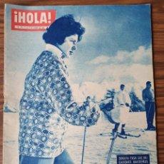 Coleccionismo de Revista Hola: HOLA Nº 801-1960-SORAYA-DIOR-IBERIA-MEDIAS-WINSTON CHURCHILL-PHILIPS-CHARLTON HESTON. Lote 218318108