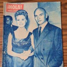 Coleccionismo de Revista Hola: HOLA 802 -1960.YUL BRYNNER,AVA GARDNER,BODA DE FRANCISCA DE BORBON. Lote 218318306
