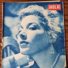 Coleccionismo de Revista Hola: HOLA. Nº 528, AÑO 1954. COSETTA GRECO EN PORTADA. Lote 218319140