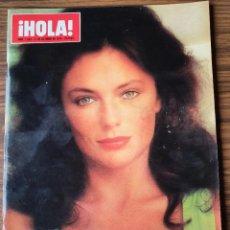 Coleccionismo de Revista Hola: REVISTA HOLA Nº 1624 1975,ENTREVISTA A GINA LOLLOBRIGIDA ,REPORTAJE A EL CORDOBES. Lote 218402640