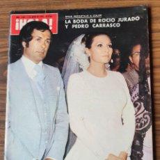 Coleccionismo de Revista Hola: REVISTA HOLA - Nº 1658 JUNIO 1976 BODA ROCÍO JURADO Y PEDRO CARRASCO, MELISSA SUE ANDERSON. Lote 218403266