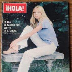 Coleccionismo de Revista Hola: REVISTA HOLA Nº 1678 AÑO 1976. DOUCHKA SPOSITO. REYES DE ESPAÑA. MONTSERRAT CABALLE.. Lote 218404880
