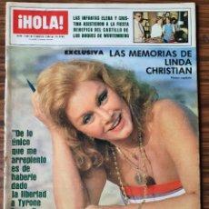 Coleccionismo de Revista Hola: HOLA 2084. AGOSTO 1984. CLIO GOLDSMITH, CANTUDO, LINA MORGAN, ELSA BAEZA, THYSSEN, LINDA CHRISTIAN. Lote 218406253