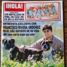 Coleccionismo de Revista Hola: REVISTA HOLA Nº 2797. MARZO 1998. MEG RYAN, FRAN RIVERA, SOFIA VERGARA, PANTOJA, ROCIO JURADO. Lote 218417540