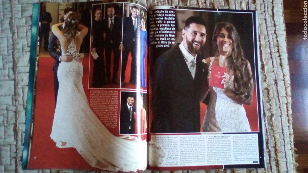 Coleccionismo de Revista Hola: Leo Messi, boda, Revista Hola. Futbol Club Barcelona, Barça - Foto 2 - 219238058