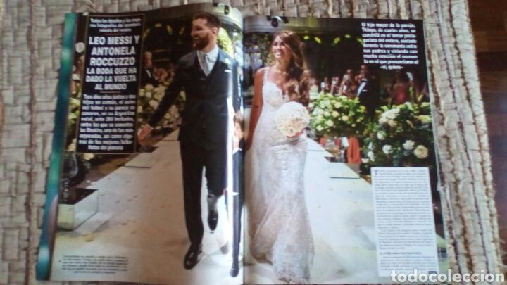 Coleccionismo de Revista Hola: Leo Messi, boda, Revista Hola. Futbol Club Barcelona, Barça - Foto 4 - 219238058