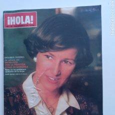 Coleccionismo de Revista Hola: HILA NUM 1621, 20 SEPTIEMBRE 1975. SONIA SE NORUEGA. Lote 220565377