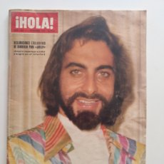 Coleccionismo de Revista Hola: HOLA NUM 1685 11 DICIEMBRE 1976. SANDOKAN,JULIO IGLESIAS , CAMILO.SESTO. Lote 220565791