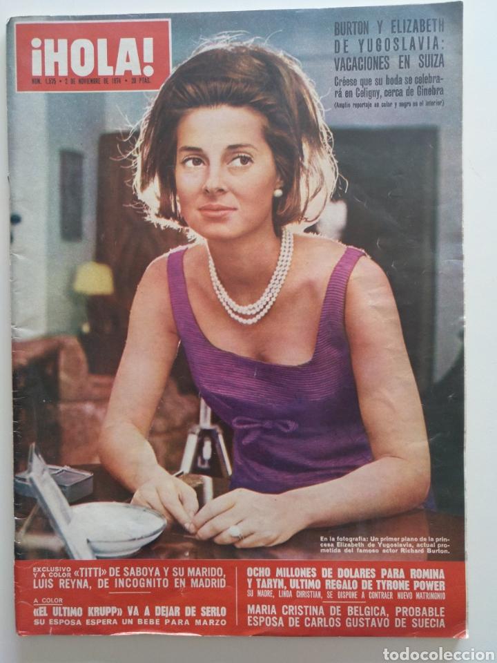 HOLA NUM 1575 2 NOVIEMBRE 1974 (Coleccionismo - Revistas y Periódicos Modernos (a partir de 1.940) - Revista Hola)