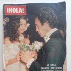 Collezionismo di Rivista Hola: HOLA NUM 1684 4 DICIEMBRE 1976. MARISA BERENSON, SANDOKAN. Lote 220565491