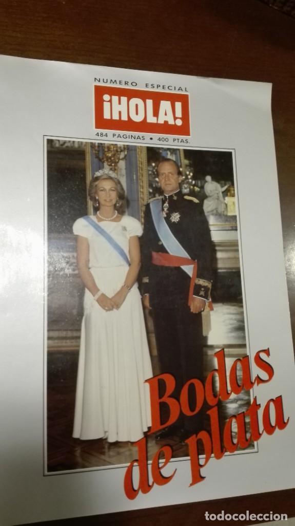 NUMERO ESPECIAL DE ¡HOLA! BODAS DE PLATA DE LOS REYES (Coleccionismo - Revistas y Periódicos Modernos (a partir de 1.940) - Revista Hola)