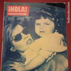 Coleccionismo de Revista Hola: REVISTA HOLA. Nº 770. MAYO 1959. PIER ANGELI Y EVA BARTOK EN ESPAÑA. Lote 221572106