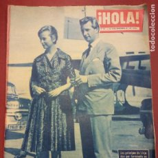 Coleccionismo de Revista Hola: REVISTA HOLA. Nº 785. SEPTIEMBRE 1959. LOS PRÍNCIPES DE LIEJA DAN POR TERMINADA SU LUNA DE MIEL EN P. Lote 221573126