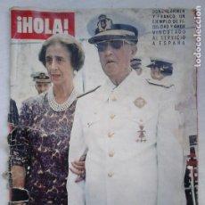 Coleccionismo de Revista Hola: REVISTA HOLA N.º 1631. LUTO NACIONAL: EL CAUDILLO HA MUERTO. Lote 92164410