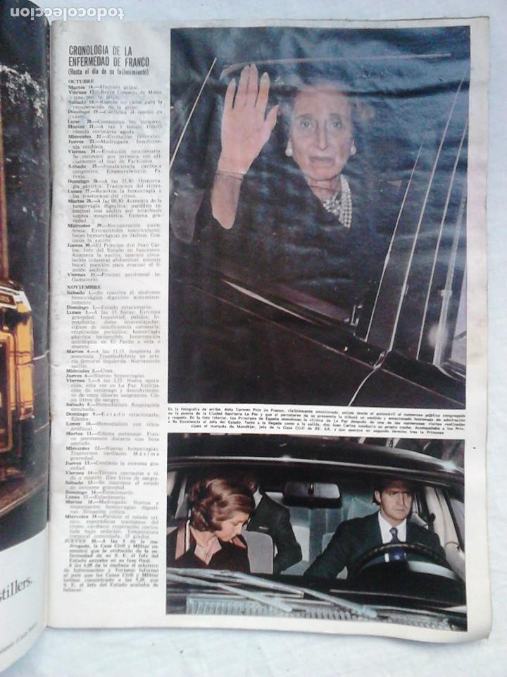 Coleccionismo de Revista Hola: Revista Hola N.º 1631. Luto nacional: El Caudillo ha muerto - Foto 2 - 92164410