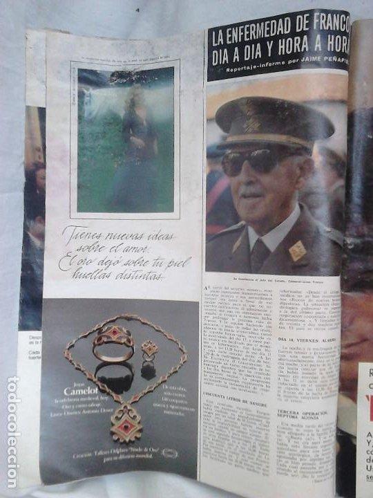 Coleccionismo de Revista Hola: Revista Hola N.º 1631. Luto nacional: El Caudillo ha muerto - Foto 3 - 92164410