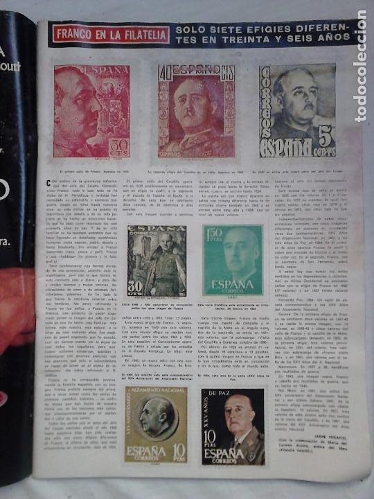 Coleccionismo de Revista Hola: Revista Hola N.º 1631. Luto nacional: El Caudillo ha muerto - Foto 4 - 92164410