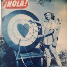 Coleccionismo de Revista Hola: REVISTA HOLA .AGOSTO 1950. Lote 221980570