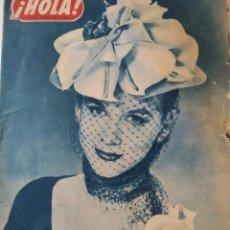 Coleccionismo de Revista Hola: REVISTA HOLA.MAYO 1952. Lote 221980572