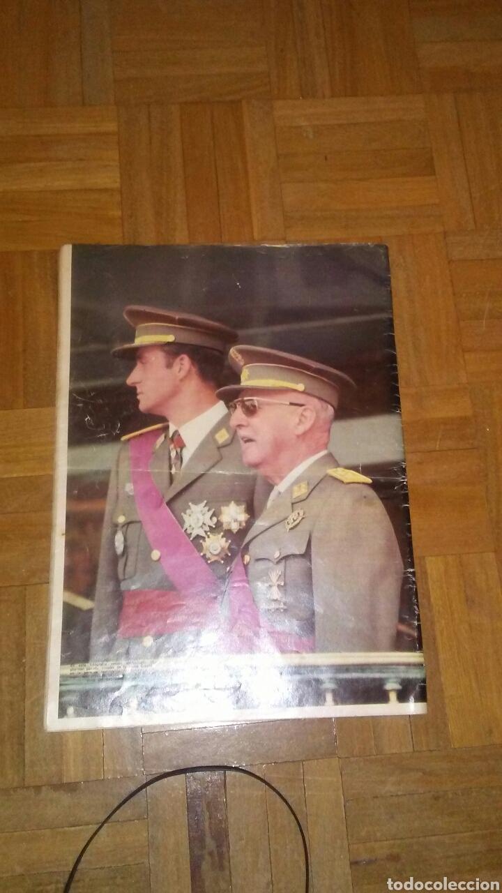 Coleccionismo de Revista Hola: Revista Hola n°especias Franco ha muerto.(Ver fotos y leer descripción) - Foto 2 - 222089470